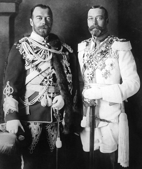 Vodka for George V, Nicholas II