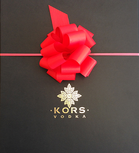 Kors Vodka Business Gift Program