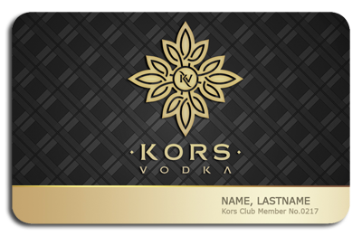 Kors Gold VIP Membership Card